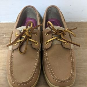 SPERRY Top Siders with Gold Laces